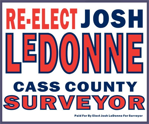 Paid for by Committee to Elect Josh LeDonne for Surveyor